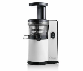 Front view to Sana Juicer by Omega EUJ-808 white