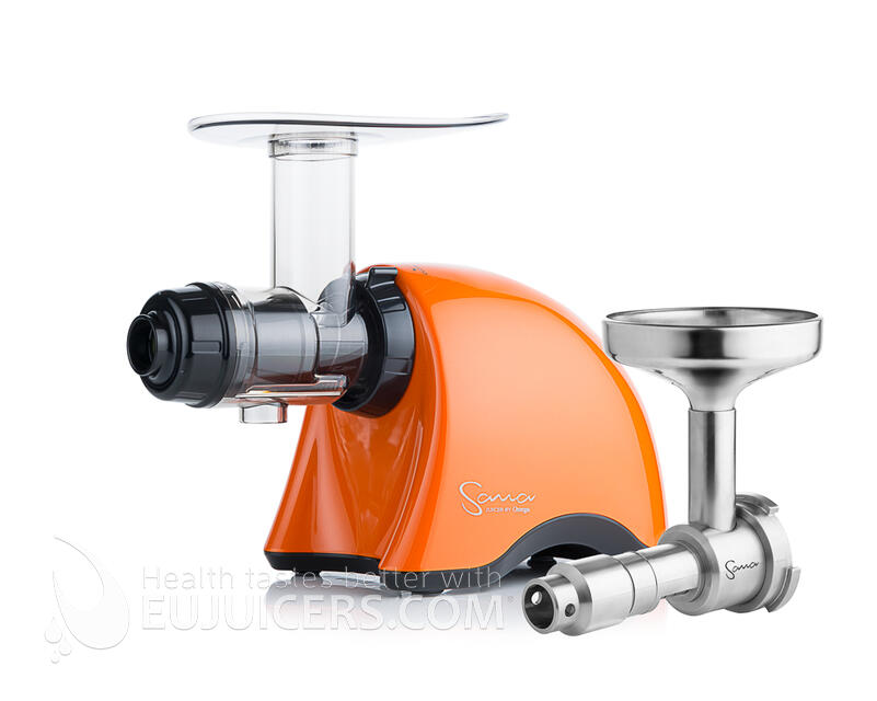 Sana Juicer EUJ-707 Gold Pearl Orange + Sana Oil Extractor EUJ-702