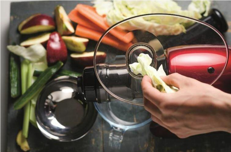 horizontal juicer